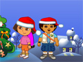 Dora And Diego Christmas Gifts Game